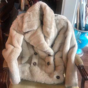 Amazing Vintage Gucci Faux Fur Bomber Jacket